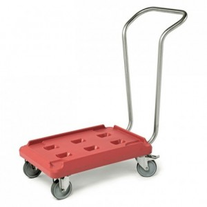 Mobile base with stainless steel handle Sherpa