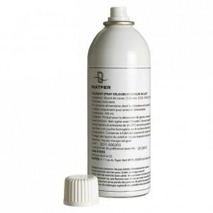 Velvet spray dark chocolate 400 mL
