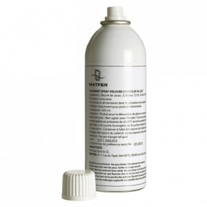 Velvet spray milk chocolate 400 mL