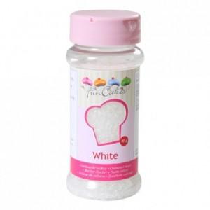 Sucre coloré FunCakes blanc 80 g