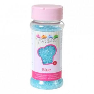 Sucre coloré FunCakes bleu 80 g