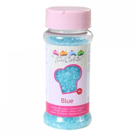 FunCakes Coloured Sugar Blue 80g