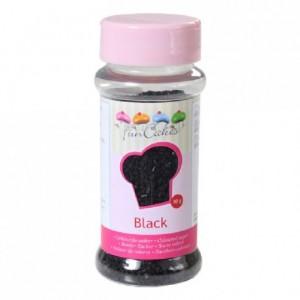 Sucre coloré FunCakes noir 80 g