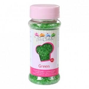 Sucre coloré FunCakes vert 80 g