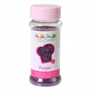 Sucre coloré FunCakes violet 80 g