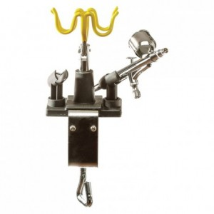 Universal airbrush stand stainless steel