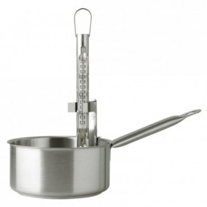 Thermometer stainless steel H 137 mm