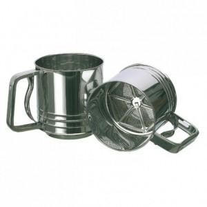 Tamis à farine automatique en inox Ø 110 mm