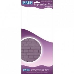 Tapis relief à pâte à sucre PME Brick