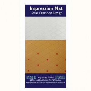 PME Impression Mat Diamond Small