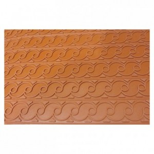 Tapis relief arabesque 600 x 400 mm