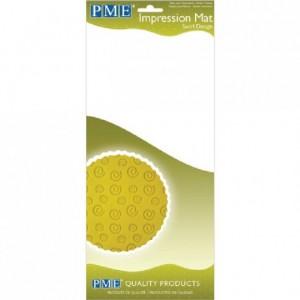 Tapis relief à pâte à sucre PME Swirl