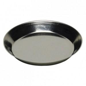 Tartelette ronde unie fer blanc Ø60 mm (lot de 12)