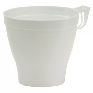Injected white cup 37 cL (480 pcs)