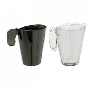 Tasse moka en PS noir 15 cL (lot de 144)