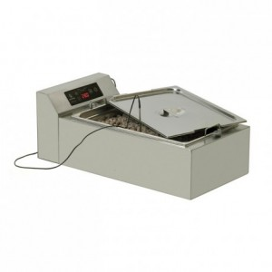 Water-heated chocolate dipping machine Choco 22 T, 240 V