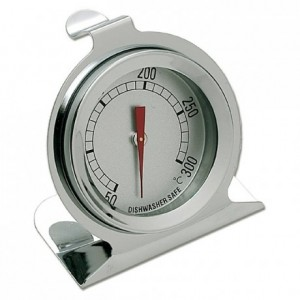 Oven Thermometer stainless steel +50 to +300°C