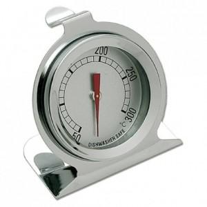 Thermomètre four à cadran +50°C à +300°C en inox