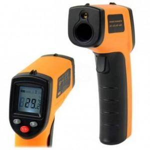 Thermomètre infrarouge à visée laser -50°C +380°C