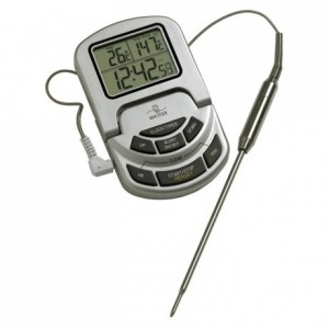 Thermometer with alarm 0°C to 300°C