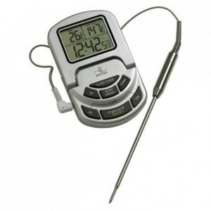 Thermomètre sonde avec alarme 0°C à 300°C