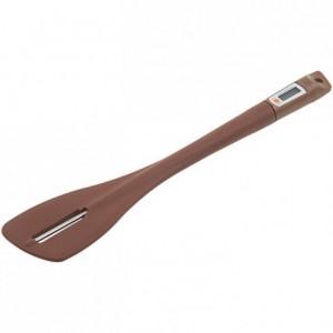 Thermomètre spatule silicone