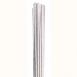 Tiges pour fleurs calibre 18 Culpitt blanc 20 pièces