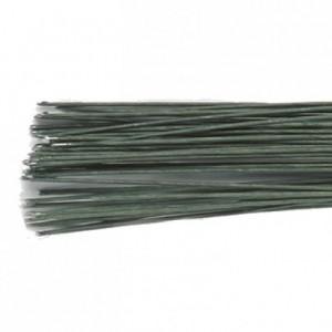 Tiges pour fleurs calibre 20 Culpitt vert 20 pièces