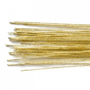 Culpitt Floral Wire Gold set/50 24 gauge