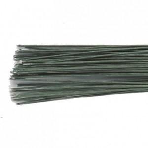 Tiges pour fleurs calibre 22 Culpitt vert foncé 20 pièces