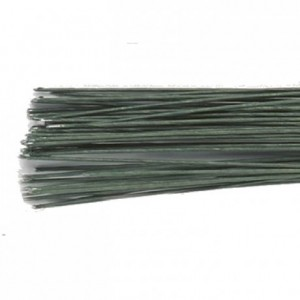 Culpitt Floral Wire Dark Green set/50 24 gauge