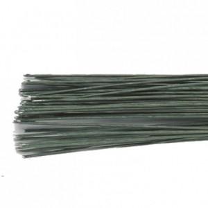Tiges pour fleurs calibre 28 Culpitt vert foncé 50 pièces