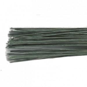 Tiges pour fleurs calibre 30 Culpitt vert foncé 50 pièces