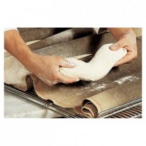 Dough fermentation cloth 100% natural linen 700 mm x 20 m