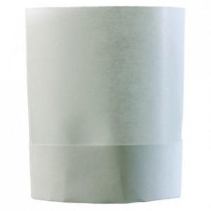 Matfer plain chef's hat without top H 225 mm (10 pcs)