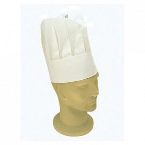 Paper chef's hat H 230 mm (100 pcs)