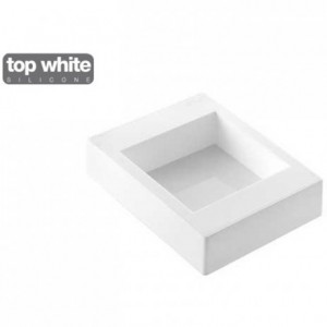 Moule silicone Torta Flex carré 100 x 100 x 50 mm