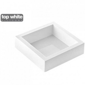 Moule silicone Torta Flex carré 160 x 160 x 50 mm
