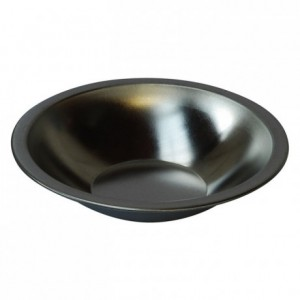 Traditional French cheesecake mould tin Ø140 mm (pack of 3)