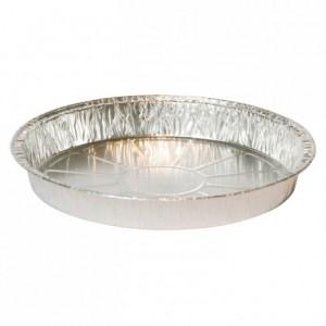 Tourtière unie aluminium TO 270 R Ø 278 mm (lot de 100)
