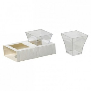 Verrine Cubo 18 cL (lot de 180)