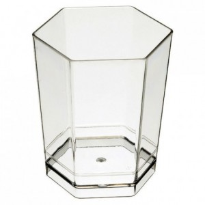 Verrine Hexagonal 4 cL (lot de 300)