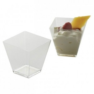 Verrine Quadra 5 cL (lot de 500)