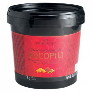 Xocopili 72% spicy and salty dark chocolate Gourmet Creation balls 1 kg