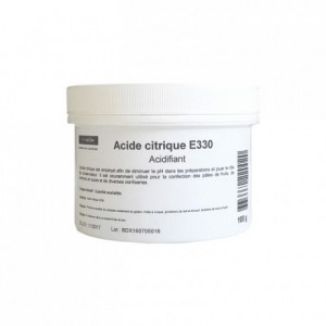 Acide citrique E330 100 g