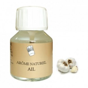 Garlic flavour natural 58 mL
