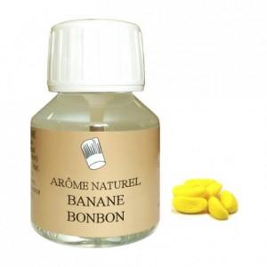 Arôme banane bonbon naturel 58 mL