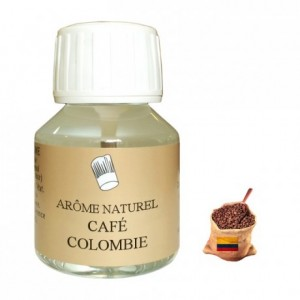 Coffee Columbian note natural flavour 58 mL