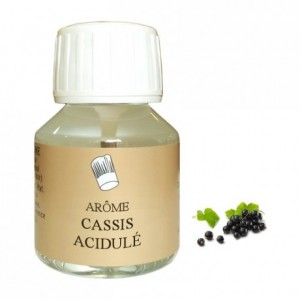 Acidulous blackcurrant flavour 58 mL