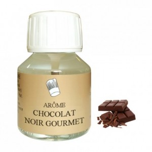 Dark chocolate gourmet flavour 58 mL